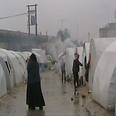 Winter in a refugee camp Photo: Reuters
