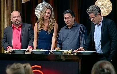השופטים שני, כהן, אנסקי ורושפלד. בלי חובבנות (צילום: ערוץ 2)