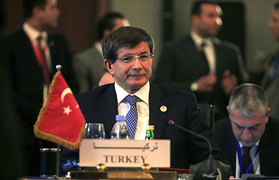 Turkish Foreign Minister Ahmet Davutoglu (Photo: Reuters)
