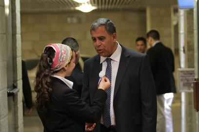 לשעבר מפקד מחוז ירושלים במשטרה, מהיום חבר כנסת. מיקי לוי (צילום: גיל יוחנן)