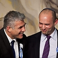 Bennett and Lapid Photo: Gettyimages