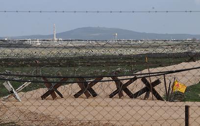 גדר הגבול (צילום: אביהו שפירא)