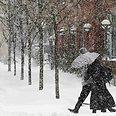 Snowstorm Photo: Reuters