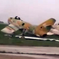 One of the planes found at air base 