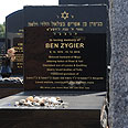 Zygier's grave in Melbourne Photo: EPA