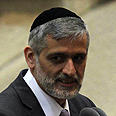 Shas Chairman Eli Yishai Photo: Gil Yohanan