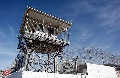 כלא איילון, שם התאבד האסיר X (צילום: רויטרס)