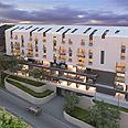 דירות סטודיו ודופלקסים בעיצוב מודרני הדמיה: אדריכל גבי שוורץ משוורץ בסנוסוף אדריכלים
