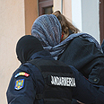 Arrest at Bucharest clinic Photo: AFP
