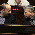 Want to change the system. Bennett (L) and Lapid Photo: Gil Yohanan