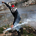 Riots near Ramallah Photo: AP