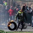 Riots near Ofer Prison Photo: Gil Yohanan