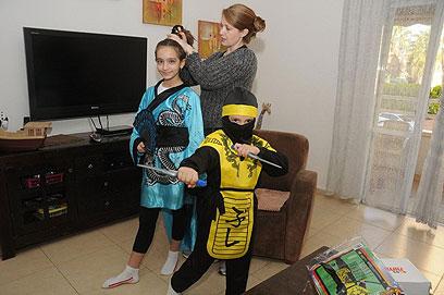 נינג'ה ויפנית בבאר שבע (צילום: הרצל יוסף)