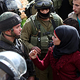 Palestinians protest in Jenin Photo: EPA