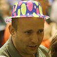Naftali Bennett celebrates Purim Photo: Nimrod Glickman