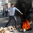 Hebron clashes Photo: EPA