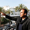 Director Kamal Hachkar. Accused of promoting 'normalization' with Israel Photo: AP