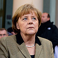 Merkel. 'Strong record of support for German Jewish community' Photo: AFP