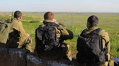 IDF soldiers in Golan Heights (Photo: Avihu Shapira)