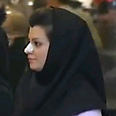 Iranian woman after nose job