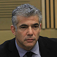 Yesh Atid&#39;s Yair Lapid Photo: Gil Yohanan