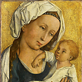 Painting of Virgin and Child, donated to Stuttgart museum after World War II Photo: AP