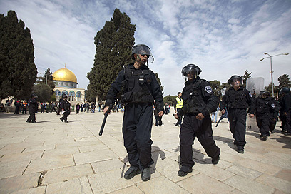 Police at Temple Mount (Archive Photo: AFP)