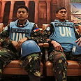 Hostage UN peacekeepers Photo: AP