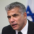 Lapid Photo: Reuters