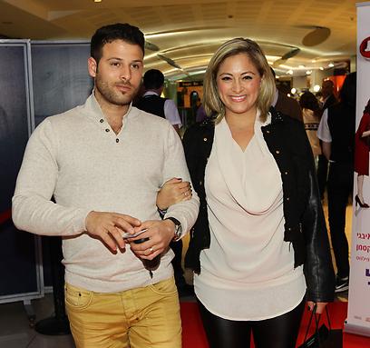 אימאל'ה, גם לפה הגעת?! ליהיא גרינר ובעלה יוסי (צילום: רפי דלויה)