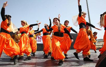 בית ספר רוקד - משפר ביטחון ומעודד חברויות (צילום: שניר יזיבצקי לדיאגו מיטלברג)