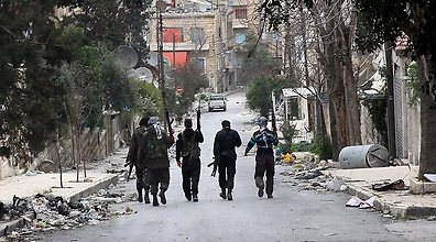 Syrian rebels in Aleppo (Photo: MCT)