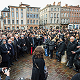Memorial service, Sunday, Toulouse Photo: AP