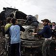 Demonstrators set fuel truck on fire in Lebanon