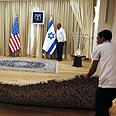 Final preparations for Obama visit