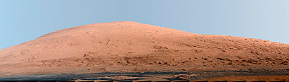Mount Sharp on Mars (Photo: Reuters) ((Photo: Reuters))