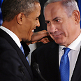 Netanyahu and Obama, Wednesday Photo: AFP