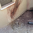 Damage caused by rocket in Sderot Photo: Roee Idan