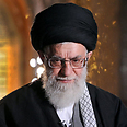 Ali Khamenei: 'Will raze Tel Aviv and Haifa to the ground' Photo: AP