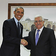 Obama and Abbas in Ramallah Photo: AFP