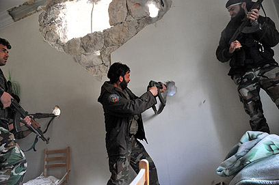 Rebels in Aleppo (Photo: AFP)