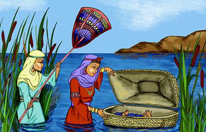 איפה בת פרעה? למה מחביאים את אחות משה? שהרה מרימה כוס מים לכבודה (צילום: shutterstock)