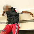 לטשטש! שחקן כדורגלן קונגו כדורגלן מכבי נתניה חשוד רצח זהבה צ'קול מלון כרמל נתניה Photo: Shaul Golan