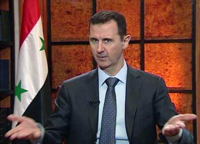 ניתק את האינטרנט? נשיא סוריה בשאר אסד (צילום: AP)