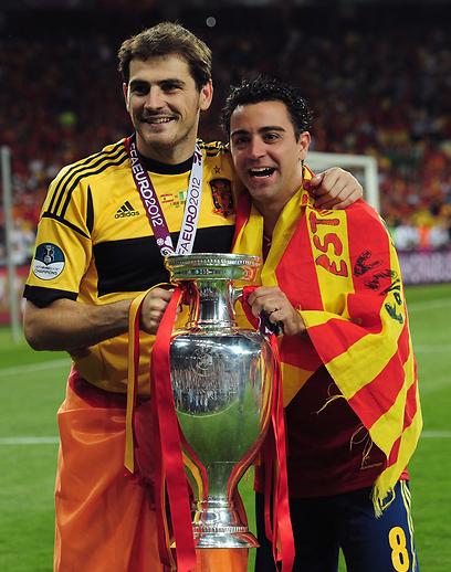 """נבחרת ספרד. """"עדיין הטובה ביותר"""" (צילום: Gettyimages)"""