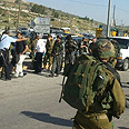 Scene of terror attack Photo: Judea and Samaria rescue services