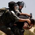 Arrest of Palestinian (Archive) Photo: AP