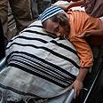 Eviatar Borovsky's funeral. Murdered by Palestinian seeking to 'clear' his family Photo: Avishag Shaar-Yashuv