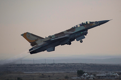 IAF attacks in Gaza, illustration (Photo: EPA) (Photo EPA)