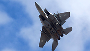 Israel Air Force F-15 jet Photo: EPA